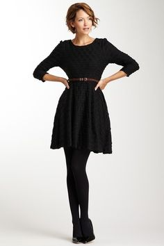 Love this dress for winter if it was a little bit longer.