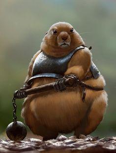 Medieval Rodent Warriors - Original CharacterArt - News - GeekTyrant