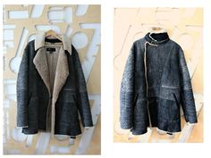 Sheepskin jacket Shearling Sheepskin coat Lamb Fur by StylishAgain