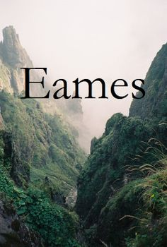 "Eames \e(a)-mes\ as a boy's name has the meaning ""wealthy protector"" and is a variant of Eamon (Irish, Gaelic): the Gaelic forms are Éamon(n) and Éaman(n)."
