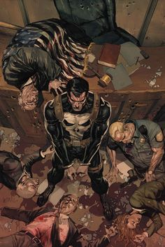 Punisher by Leinil Francis Yu. Says a ton without saying anything at all.