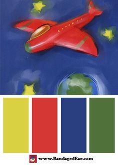 Children's Room Color Palettes