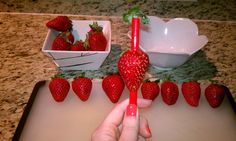This definitely works easy quick & cheap! DIY QUICK TIP: HOW TO HULL STRAWBERRIES