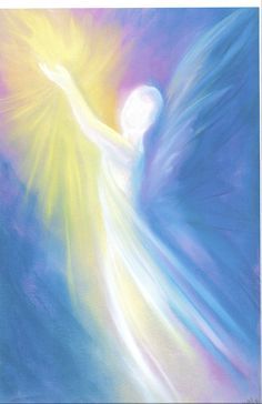 Angel Stories, Angel Artwork, I Believe In Angels, Angel Pictures, Beautiful Angels Pictures, Guardian Angels, Pastel Art, Painting Inspiration, Paintings