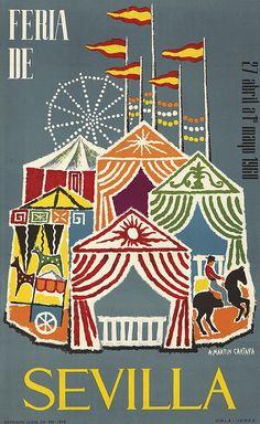 Feria de Sevilla - 1960 - (Martin Cartaya)