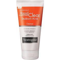 Neutrogena Rapid Clear Stubborn Acne Cream Cleanser