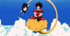 Daddy Goku and his baby boy ♡^^