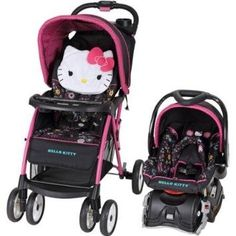 Baby Trend Venture Travel System, Hello Kitty Daisy Stroller & Car Seat - $169.00
