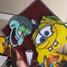 Ronald Mcdonald, Graduation Caps, Fictional Characters, Fantasy Characters