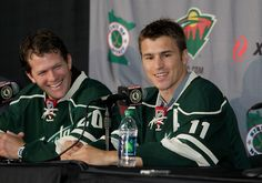 On July 9, Zach Parise and Ryan Suter were officially welcomed to the State of Hockey, their new home for the next 13 years.