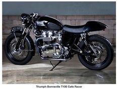 Triumph Bonneville T100 Cafe Racer | Blog de l'Ideal Studio