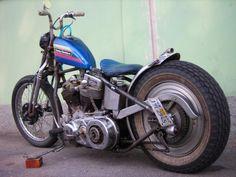 Harley-Davidson Bobber #motorcycles #bobber #motos   caferacerpasion.com