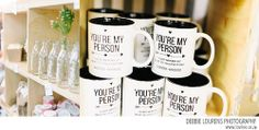 You Are My Person mugs at Kamers vol Geskenke Cape Town 2014 on Lovilee blog, Debbie Lourens Photography