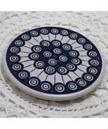 BOLESLAWIEC Polish Pottery Peacock Pattern Ston... - $10.50