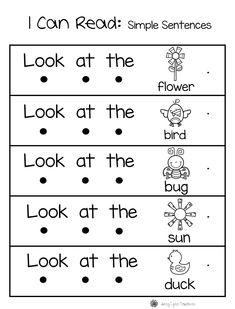 Spring Math & Literacy Packet by Jenny-Lynn Creations Kindergarten Language Arts, Kindergarten Learning, Math Literacy, Preschool Curriculum, Kids Learning Activities, Preschool Checklist, Esl Learning, Homeschool, English Worksheets For Kids