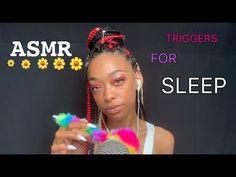 ASMR | 💤 TRIGGERS FOR SLEEP 😴 - YouTube Random Facts, Random Stuff, Oddly Satisfying Videos, May 7th, Asmr, Dumb And Dumber, Stupid, Youtubers, Life Hacks