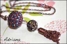 Bižutéria Adriana - moja korálková tvorba | .....náhrdelníky