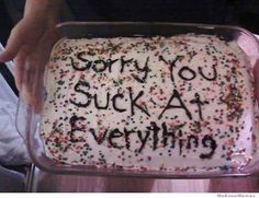 Cakes representing the emotions of your post-grad life