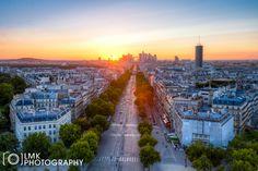 A Paris Sunset by Lee McKinney on 500px