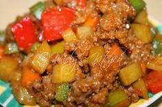 Mely's  kitchen: Beef Giniling (Carenderia Style)