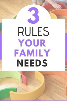 What if I told you your family only needs three rules? Find out how the 3 family rules we have promote peacefulness, happiness, and boundaries while teaching our kids respect. Toddler Chores, Toddler Discipline, Toddler Preschool, Positive Discipline, Toddler Boys, Parenting Books, Parenting Advice, Kids And Parenting, Peaceful Parenting