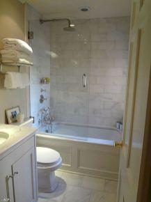 Cool small master bathroom remodel ideas (46)