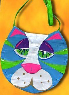 Sad kitty but cool design!!!