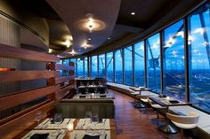 Soda Bar 1325 S. Dallas, TX 75215 Five Sixty by Wolfgang Puck gives you a view of Dallas. Photo courtesy of Five Sixty. Soda Bar at NYLO . Dallas Restaurants Best, Downtown Restaurants, Unique Restaurants, Romantic Restaurants, Rooftop Dining, Rooftop Bar, Dallas Bars, Vacation Images, Texas Restaurant