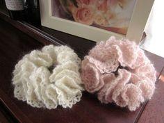 fe8881d5f52cd 大人のレースフリルシュシュ  99の作り方 編み物 編み物・手芸・ソーイング アトリエ