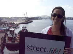 """""""Street.life! is going to be a great celebration. It's the Chamber's 95th anniversary so come out and have a good time!""""  Bridgette Desmond,  Communications Manager for the Greater Portsmouth Chamber of Commerce."""
