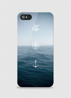 Iphone case Horizon by Maskedcat on Triaaangles