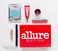 Each month, Allure editors hand-pick products from major brands and innovative newcomers that they deem the Best of the Best, and send them out in their monthly Beauty Box. In their February Beauty Box, they will include Beautycounter's Lengthening Mascara. This is the only mascara I have been able to wear in years! No itchy, rubbing of eyes for me! Who knows what unsafe ingredients bothered me in other mascara?
