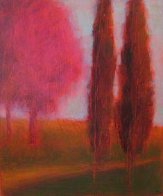 Tracy Helgeson #tree #landscape #art
