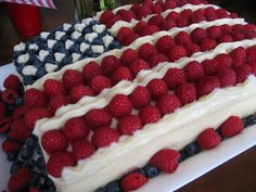 You are here: Home » US News » Flag Cake : Fourth of July Recipes  Flag Cake : Fourth of July Recipes