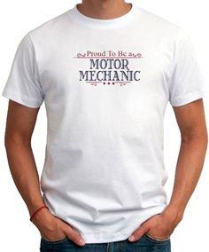 1335a6efe42 Proud to be a motor mechanic men t-shirt
