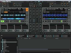 This Program Is Called Tractor Pro 2. This Is For Advanced DJ'S That Are More Advanced Because Of It's Capabilities!