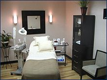 Modern Clean Esthetician Room Beauty Darling Cio