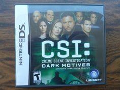 CSI: Crime Scene Investigation Dark Motives Nintendo DS Complete Video Game RARE http://r.ebay.com/ZYLo7N @eBay #nds #nintendods #nintendo