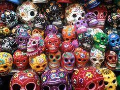Dia de los muertos en Mexico - calavera mexicana (tatuaje)