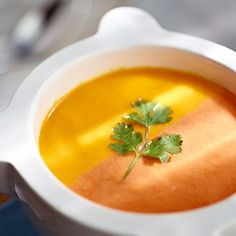 Try this light & bright soup for Spring!