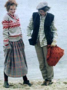 Palma Kolansky for Seventeen magazine, November 1983. This late fall/Christmassy skirt is literally perfect for someone for Act I, Scene II or Act II, Scene II