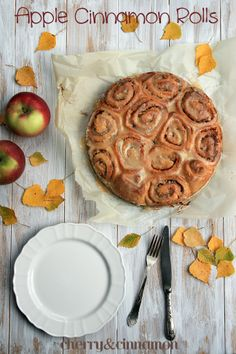 Apple Cinnamon Rolls by cherryncinnamon.blogspot.com