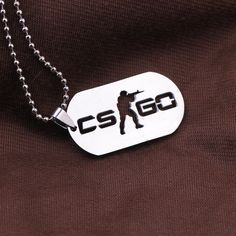 【 $1.73 & Free Shipping / Coupons 】Games CS GO Stainless Steel Link Necklace For Men Anime Male Collier Homme Jewelry | Buying & Reviews on AliExpress