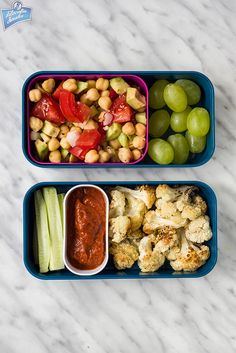 Sałatka z ciecierzycy i awokado + warzywa i owoce | Filozofia Smaku