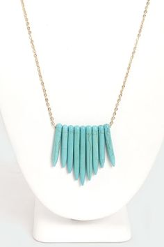 Point Out Turquoise Necklace $11