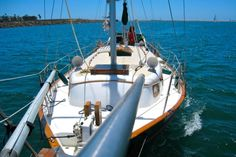 How to rehab an old sailboat - Matador Network Sailboat Restoration, Sailboat Interior, Sailboat Living, Build Your Own Boat, Boat Projects, Boat Stuff, Boat Rental, Sail Away, Boat Tours