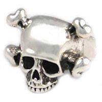 Trashy Diva | Femme Metale Cross Bones Ring-Sterling $146