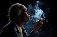 Smoking Beauty - by Vichaya Chatikavanij