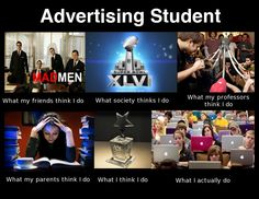 Love being an ad major. :)