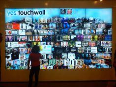 touchscreen wall
